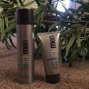 Daily facial wash and shave foam